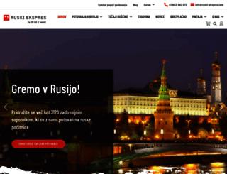 ruski-ekspres.com screenshot