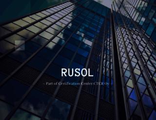 rusol.net screenshot