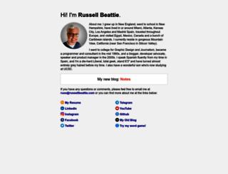 russellbeattie.com screenshot