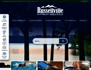 russellvillearkansas.org screenshot
