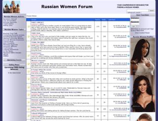 russian-women-forum.com screenshot