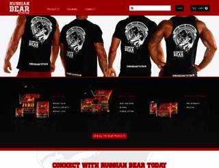 russianbearnutrition.com screenshot