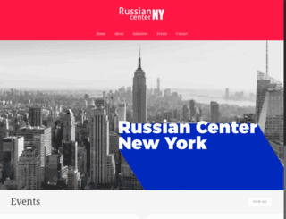 russiancenterny.org screenshot