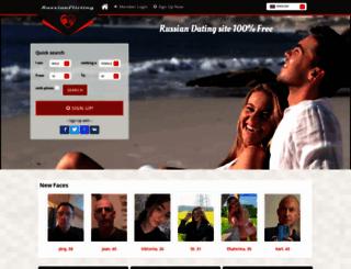 russianflirting.com screenshot