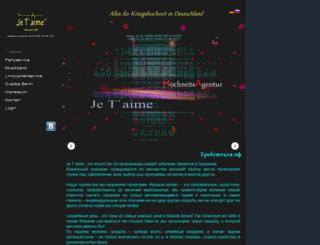 russische-hochzeit-exclusive.de screenshot