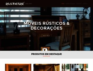 rusticare.com.br screenshot