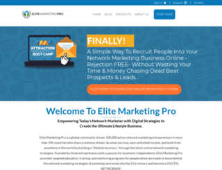 rustymh.elitemarketingpro.com screenshot