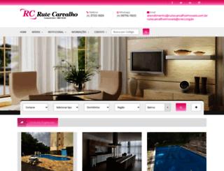rutecarvalhoimoveis.com.br screenshot