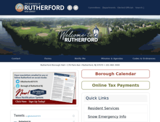 rutherford-nj.com screenshot