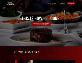 ruthschris.com screenshot
