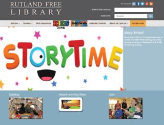 rutlandfree.org screenshot