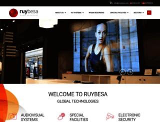 ruybesa.es screenshot