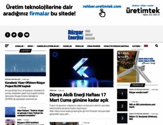 ruzgarenerjisidergisi.com screenshot