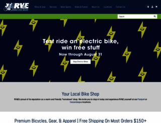rvebike.com screenshot