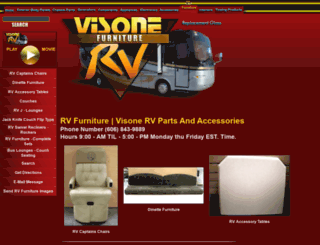 rvfurniture.visonerv.com screenshot