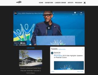 rwandaday.org screenshot