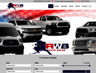 Red White Blue Auto Sale In Anchorage Alaska >> Access Rwbauto Com Red White Blue Auto Sale In Anchorage Alaska