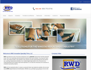 rwdextendertrim.com screenshot