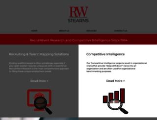 rwstearns.com screenshot