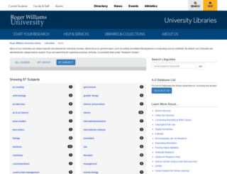 rwu.libguides.com screenshot