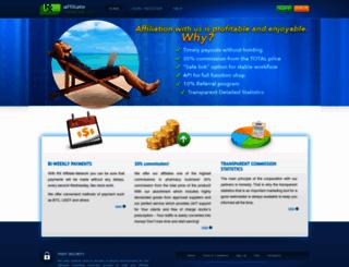 rx-affiliate-network.com screenshot