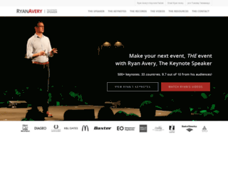 ryanavery.com screenshot
