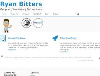 ryanbitters.com screenshot