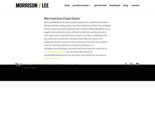 ryanmorrisonlaw.com screenshot
