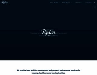 rydon.co.uk screenshot
