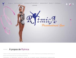 rytmica.fr screenshot