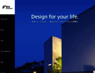 ryu-corporation.co.jp screenshot