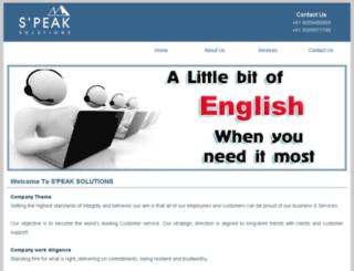 s-peaksolutions.com screenshot