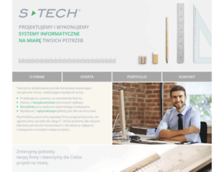 s-tech.pl screenshot