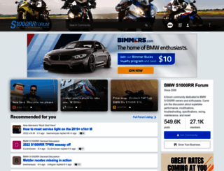 s1000rrforum.com screenshot