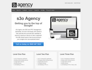 s3oagency.co.uk screenshot