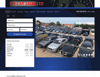 sa-carsales.co.uk screenshot