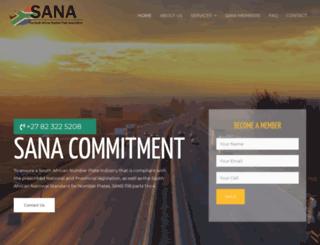 sa-na.co.za screenshot