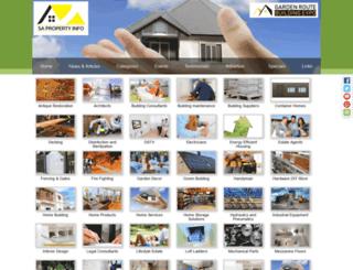 sa-property-info.co.za screenshot