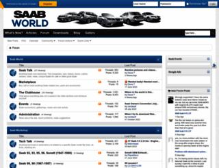 saabworld.net screenshot