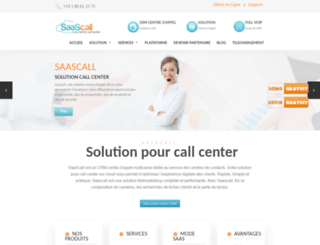 saascall.com screenshot