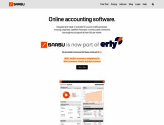 saasu.com.au screenshot