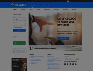 sabadellguipuzcoano.com screenshot