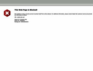 sabah.edu.my screenshot