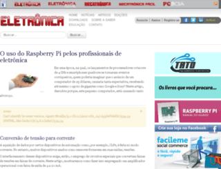 sabereletronica.com.br screenshot