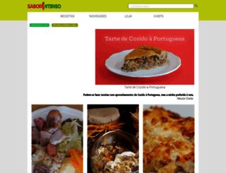 saborintenso.com screenshot