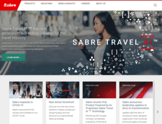sabre-holdings.com screenshot