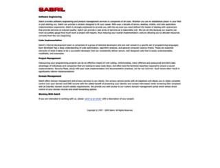 sabril.com screenshot
