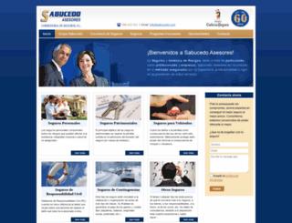 sabucedo.com screenshot