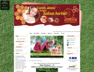 sabunherbalku.com screenshot