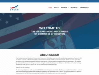 sacch.org screenshot